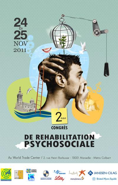 2e congrès de réhabilitation psychosociale