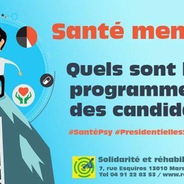 candidats à l'élection présidentielle : publiez votre programme pour la santé mentale