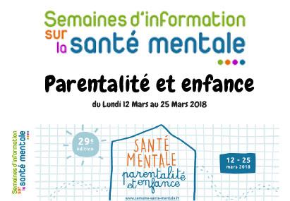 SISM 2018 (Semaines d'informations sur la santé mentale)
